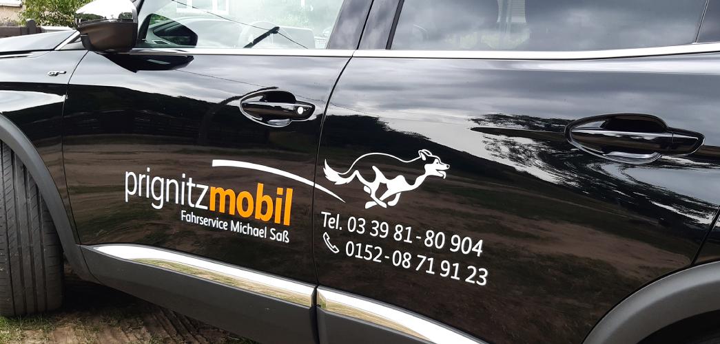 Fahrzeuggestaltung Prignitzmobil